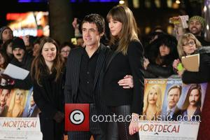 Miles Kane and Girlfriend - A host of stars were photographed as they attended the UK premiere of 'Mortdecai' which...