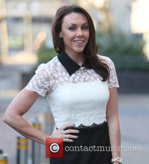 Michelle Heaton - Michelle Heaton outside ITV Studios - London, United Kingdom - Monday 19th January 2015