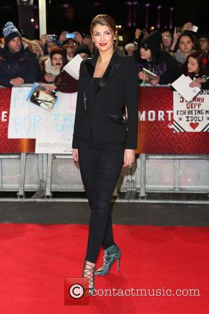 Amy Willerton - The UK premiere of Mortdecai held at the Empire cinema - Arrivals