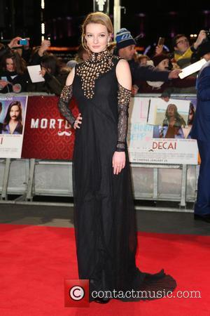Dakota Blue Richards - The UK premiere of 'Mortdecai' held at the Empire cinema - Arrivals - London, United Kingdom...