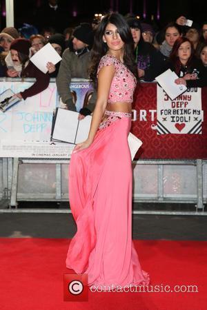 Jasmin Walia - The UK premiere of 'Mortdecai' held at the Empire cinema - Arrivals - London, United Kingdom -...