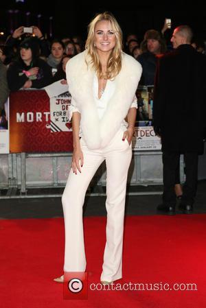 Kimberley Garner - The UK premiere of 'Mortdecai' held at the Empire cinema - Arrivals - London, United Kingdom -...