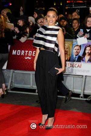 Amal Fashanu - A host of stars were photographed as they attended the UK premiere of 'Mortdecai' which stars American...
