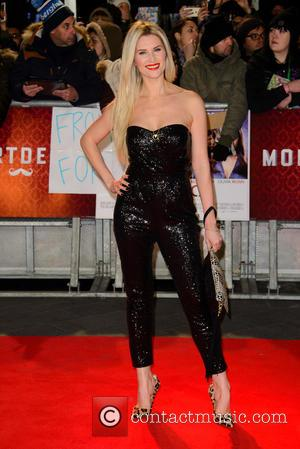 Sarah Jayne Dunn - A host of stars were photographed as they attended the UK premiere of 'Mortdecai' which stars...