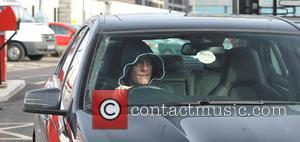 Antony Cotton - Coronation Street cast members at the studios, where filming has been suspended for the day, due to...
