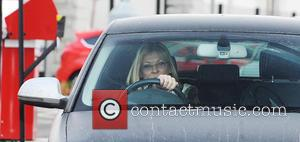 Claire King - Coronation Street cast members at the studios, where filming has been suspended for the day, due to...