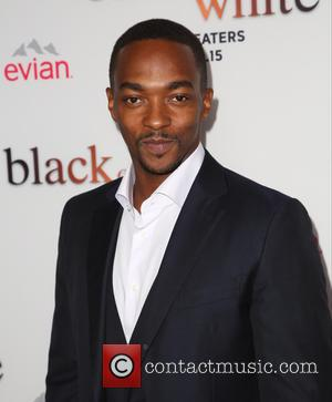 Anthony Mackie - A variety of stars were photographed as they attended the Los Angeles premiere of 'Black Or White'...