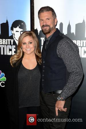 Shawn Johnson and Lorenzo Lamas - 'The Celebrity Apprentice' Red Carpet Event - Donald Trump & Fired Celebrities - Manhattan,...