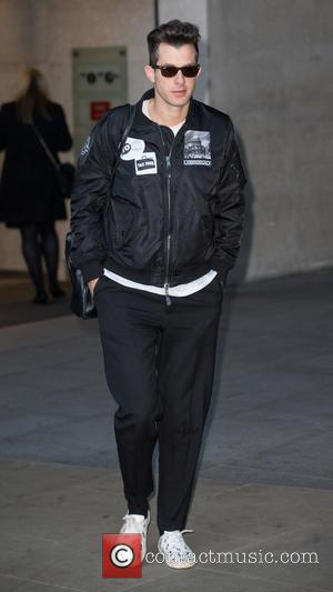 Mark Ronson - Celebrities at the BBC Radio 1 studios at BBC Portland Place - London, United Kingdom - Tuesday...