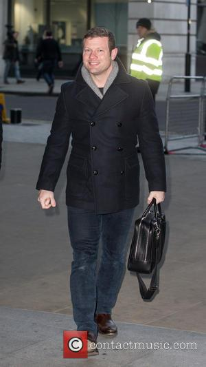 Dermot O'Leary - Celebrities at the BBC Radio 1 studios at BBC Portland Place - London, United Kingdom - Tuesday...