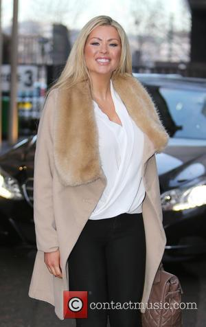 Nicola McLean - Nicola McLean outside ITV Studios - London, United Kingdom - Tuesday 20th January 2015
