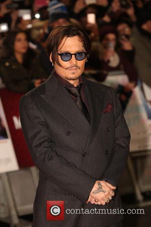 Johnny Depp - Mortdecai UK Film Premiere held at Leicester Square - London, United Kingdom - Tuesday 20th January 2015