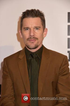Ethan Hawke - Shots of a variety of stars as they took to the red carpet for the Museum Of...