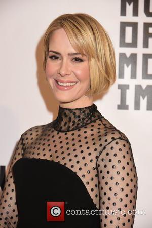 Sarah Paulson - Shots of a variety of stars as they took to the red carpet for the Museum Of...