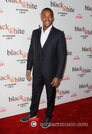 Anthony Mackie - Los Angeles premiere of 'Black or White' - Arrivals at Regal Cinemas L.A. Live - Los Angeles,...