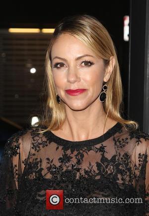 Christine Baumgartner - Los Angeles premiere of 'Black or White' - Arrivals at Regal Cinemas L.A. Live - Los Angeles,...