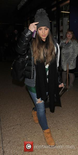 Georgia May Foote - Brooke Vincent, Michael Le Vell and Georgia May Foote arrive at Euston Station - London, United...
