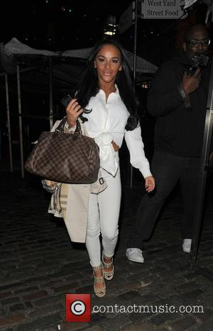 Chelsee Healey - Chelsee Healey arriving at Shaka Zulu restaurant - London, United Kingdom - Wednesday 21st January 2015