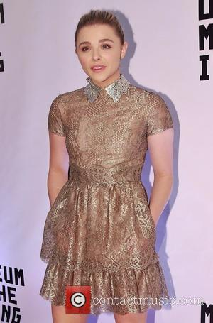Chloe Grace Moretz wearing Valentino - Museum of Moving Image Salutes Julianne Moore at 583 Park Avenue -  Arrivals...