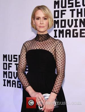 Sarah Paulson - Museum of Moving Image Salutes Julianne Moore at 583 Park Avenue -  Arrivals at 583 Park...