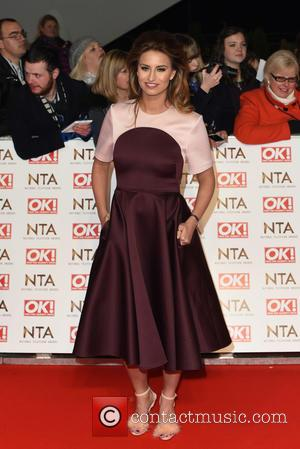 Ferne McCann - A host of British television stars were photographed on the red carpet at The National Television Awards...