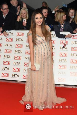 Jacqueline Jossa - A host of British television stars were photographed on the red carpet at The National Television Awards...