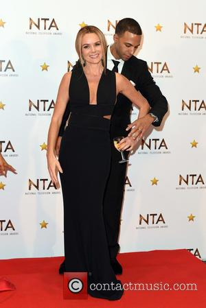 amanda Holden and Marvin Humes
