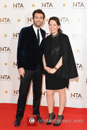 David Tennant and  Olivia Colman - National Television Awards held at the O2 - Winners Board. at National Television Awards...