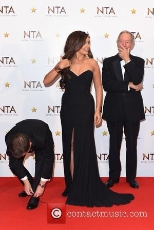 Declan Donnelly, Nadia Forde and  Michael Buerk - National Television Awards held at the O2 - Winners Board. at National...