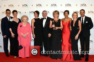 Marvin Humes, Tess Daly, Gok Wan, Eamonn Holmes, Ruth Langsford, Rochelle Humes and  Amanda Holden - National Television Awards held...