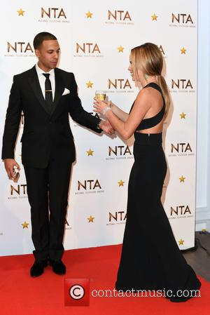 Marvin Humes and  tess Daly