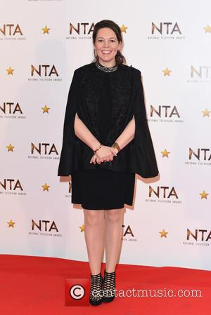 Olivia Colman - National Television Awards held at the O2 - Winners Board. at National Television Awards - London, United...