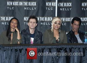 Joey Mcintyre, Chilli, T-boz and Danny Wood