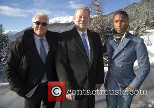 Kevin Wall, Al Gore and Pharrell William