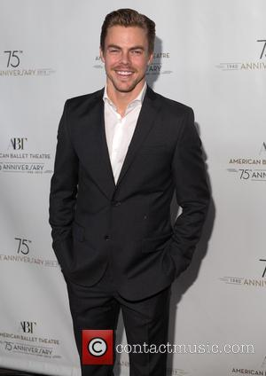 Derek Hough - American Ballet Theatre hosts it's 75th anniversary celebration party at Alice Tully Hall - Arrivals - New...