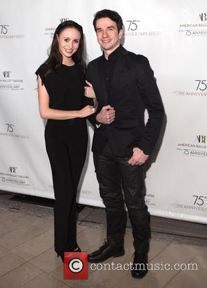 Skylar Brant and Aaron Scott - American Ballet Theatre hosts it's 75th anniversary celebration party at Alice Tully Hall -...