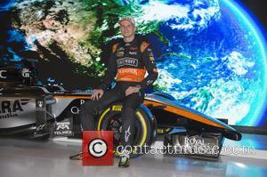 Nico Hulkenberg - F1 - Formula One - Nico Hulkenberg, Sergio Perez, Force India Team presentation in Mexico at Olympia...