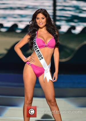 Miss Netherlands Yasmin Verheijen - 63rd Annual Miss Universe Pageant - Preliminary Show: Swimsuit Competition at Florida International University at...
