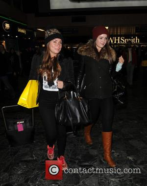 Anna Passey Nikki Sanderson - Celebrities arrive at Euston station for the NTA's - London, United Kingdom - Wednesday 21st...
