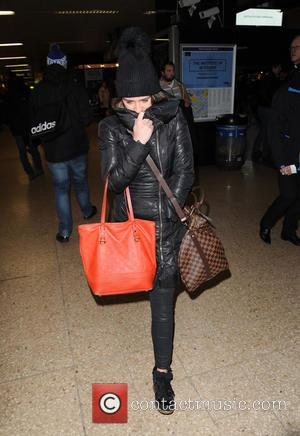 Brooke Vincent - Coronation Street stars arrive at Euston - London, United Kingdom - Wednesday 21st January 2015