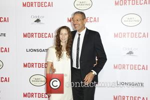 Jeff Goldblum and Emilie Livingston - 'Mortdecai' Los Angeles Premiere - Arrivals at TLC Chinese Theatre - Los Angeles, United...