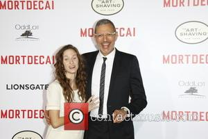 Jeff Goldblum and Emilie Livingston
