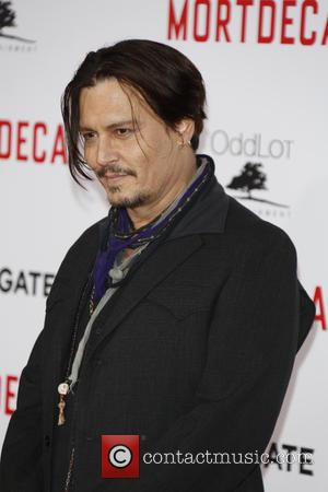 Johnny Depp - 'Mortdecai' Los Angeles Premiere - Arrivals at TLC Chinese Theatre - Los Angeles, United States - Wednesday...