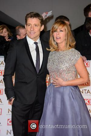 Ben Shephard and Kate Garraway - A host of British television stars were photographed on the red carpet at The...