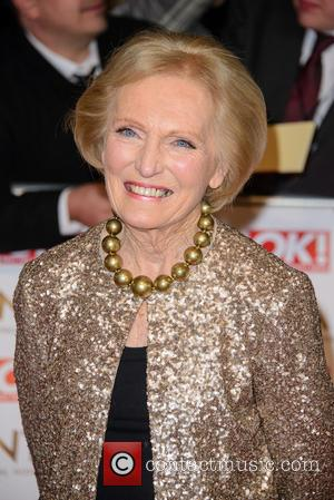 Mary Berry - A host of British television stars were photographed on the red carpet at The National Television Awards...