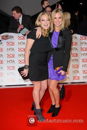 Rita Simons and Samantha Womack