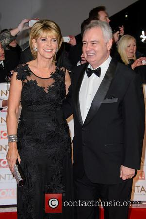 Ruth Langsford and Eamonn Holmes - A host of British television stars were photographed on the red carpet at The...