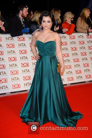 Shona McGarty - A host of British television stars were photographed on the red carpet at The National Television Awards...