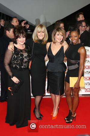 Coleen Nolan, Jane Moore, Kaye Adams and Jamelia - A host of British television stars were photographed on the red...