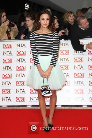 Lucy Watson - A host of British television stars were photographed on the red carpet at The National Television Awards...